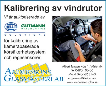 thumb anderssons kalibrering